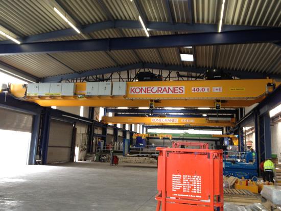 Krananlage 30 Tonnen